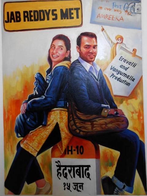 Bespoke Bollywood style wedding theme invitation cards