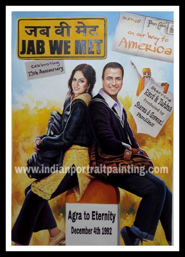 Bespoke hindi movie poster