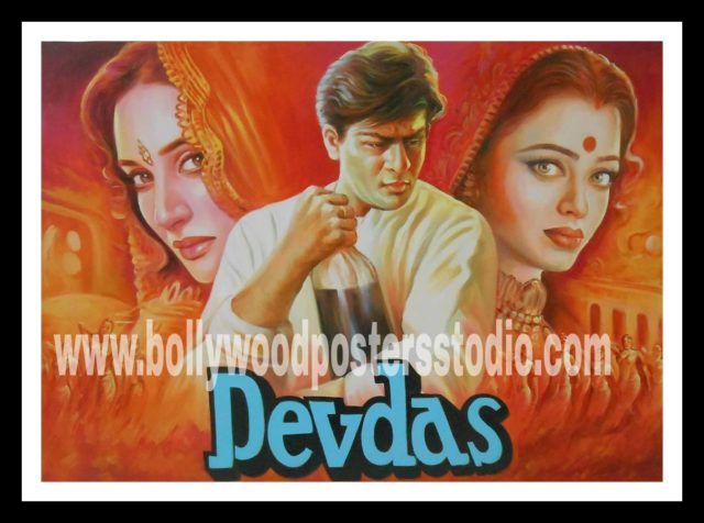 Bollywood poster hand painting artists in Mumbai