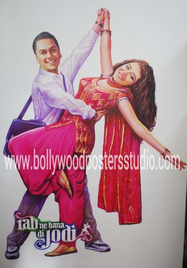Bollywood themed wedding ideas cutout posters