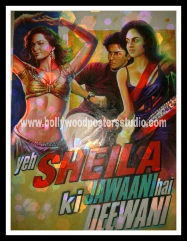 Custom Bollywood movie posters