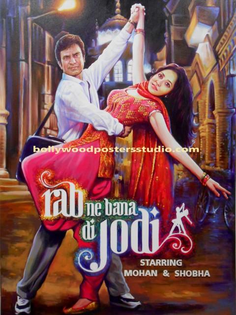 Hindi cinema customized posters