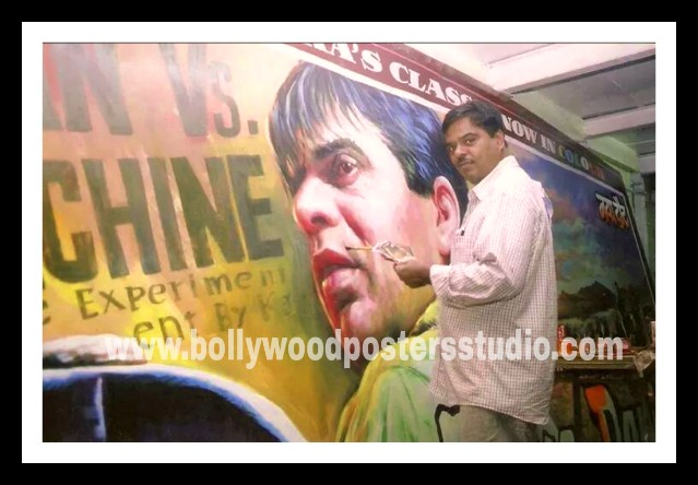Indian Bollywood movie poster painters