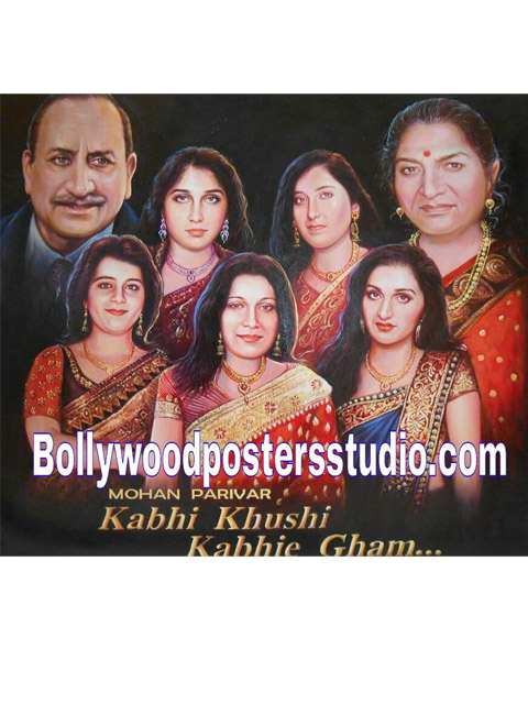 customized-family-portrait-into-bollywood-poster