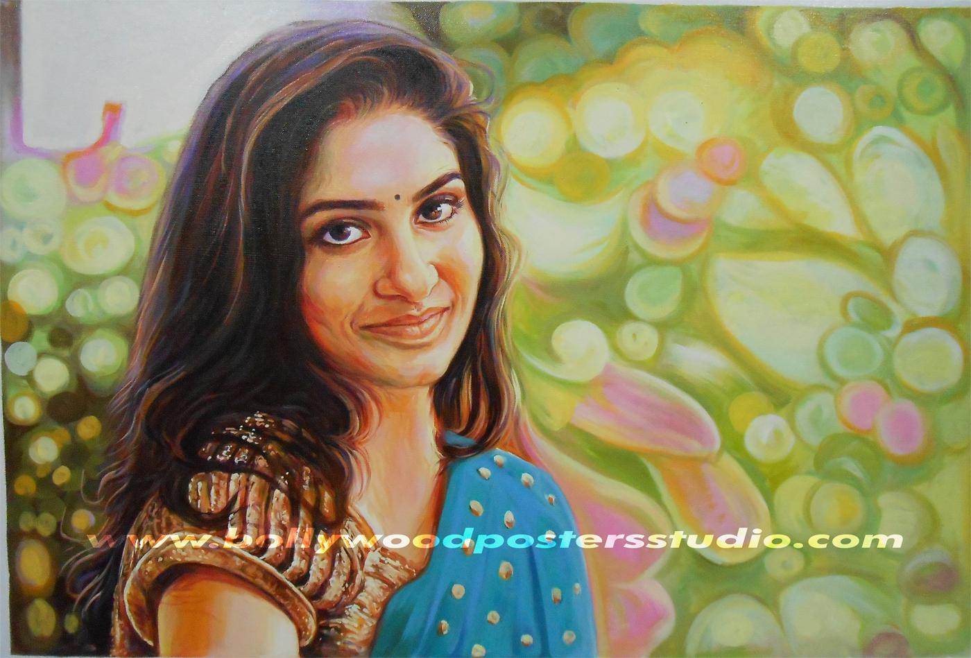 hand painting portraits online mumbai, india