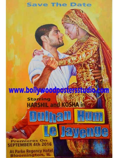 new custom bollywood poster