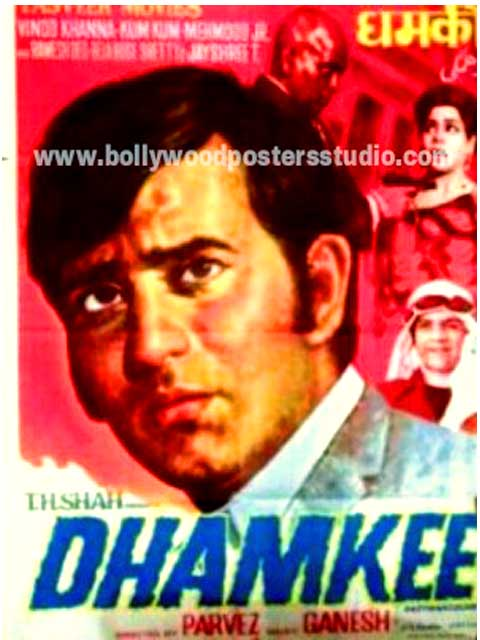 Dhamkee hand painted bollywood movie posters