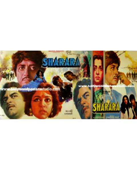 Sharara hand painted posters