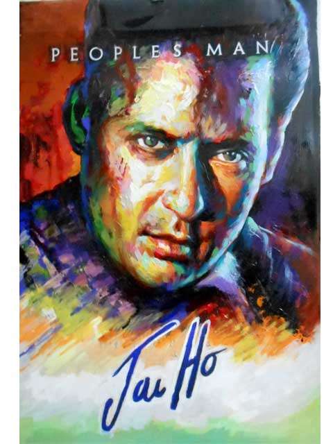 custom art of indian hindi movie poster painters