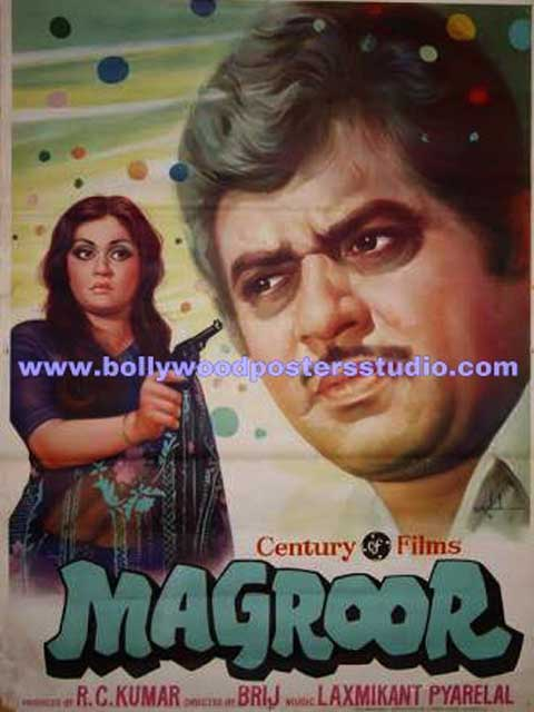 Magroor hand painted posters