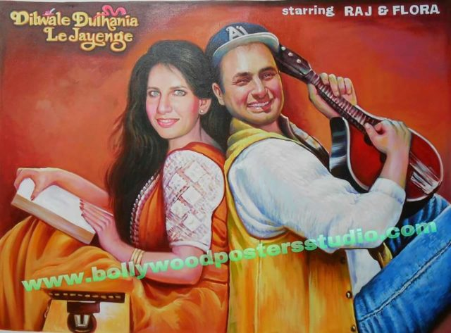 Bollywood poster painter