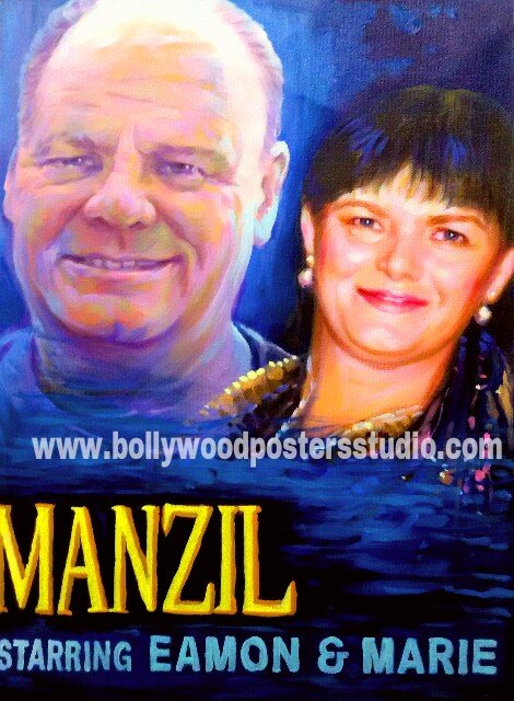 Bespoke bollywood custom posters