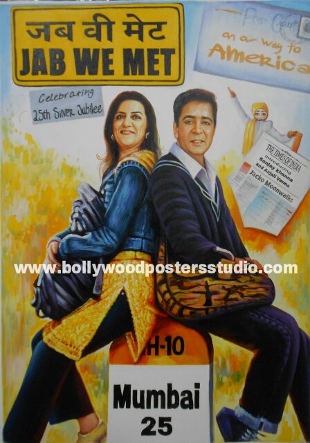 Customise invitation cards for wedding and anniversary in bollywood style