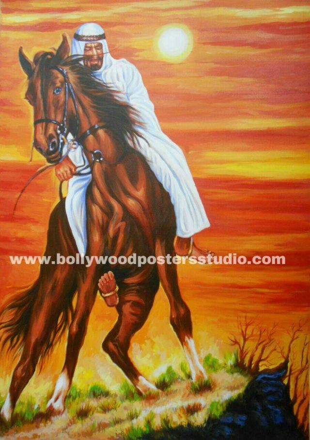 Wall art and home furnishing canvas painters - Horse paintings