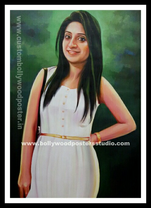 PORTRAIT - Hand painted art on canvas online india