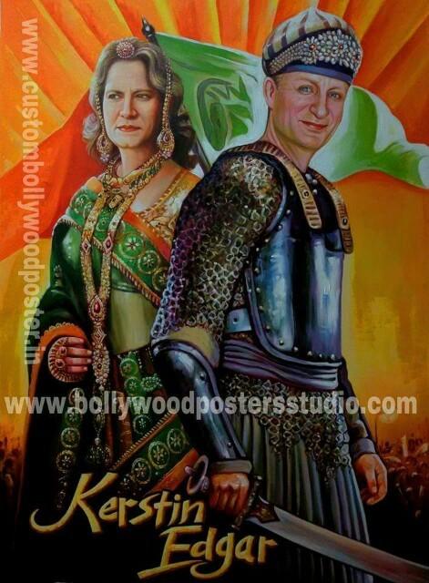 Custom poster Jodha Akbar personal gift