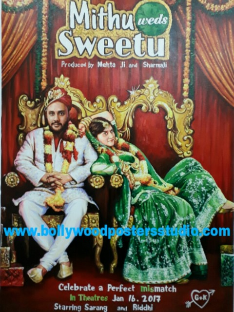 Custom made bollywood posters from photos online