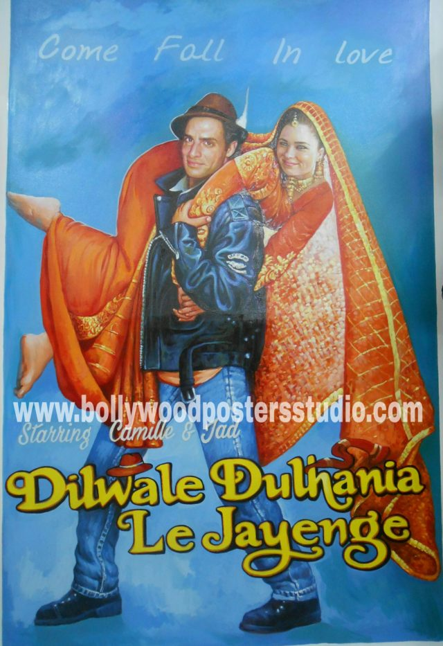 Custom bollywood poster making