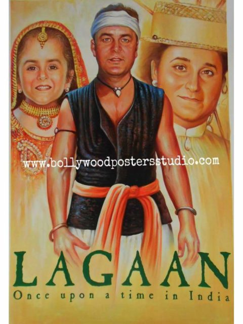 Handmade Bollywood poster