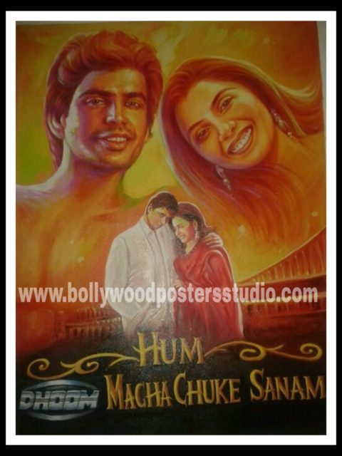 Customized Bollywood movie posters