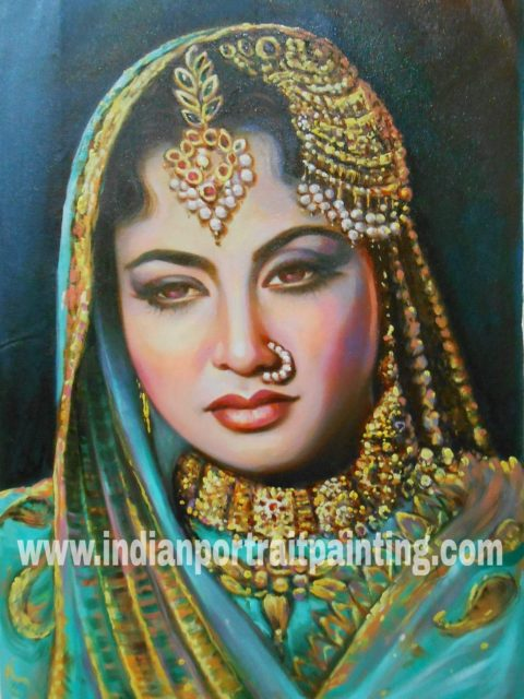Create portrait from photo by the best oil portrait painting artists Mumbai India