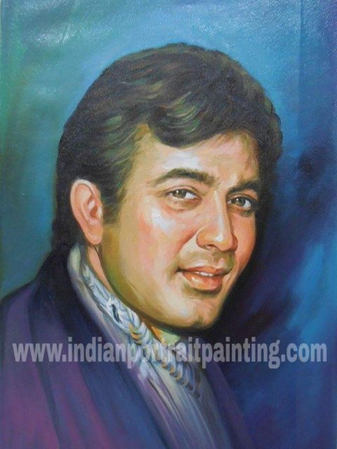 Convert photo to portrait painting India Mumbai