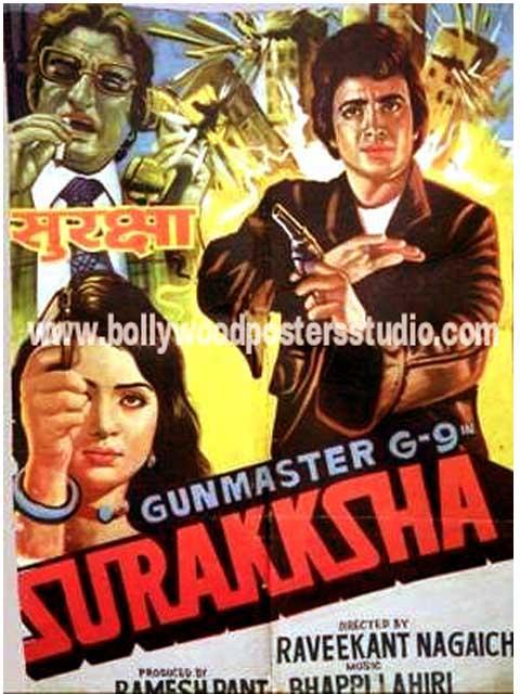 Surakksha hand painted posters