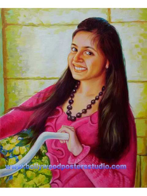 Hand painted portrait gifts