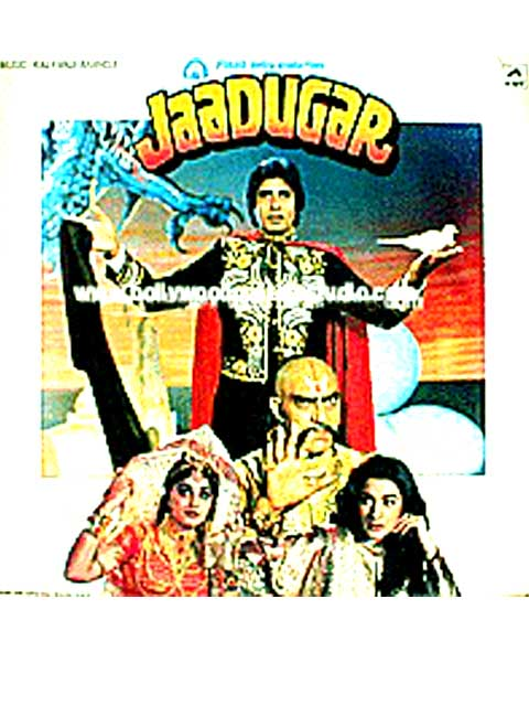 Hand painted bollywood movie posters Jaadugar - Amitabh bachchan