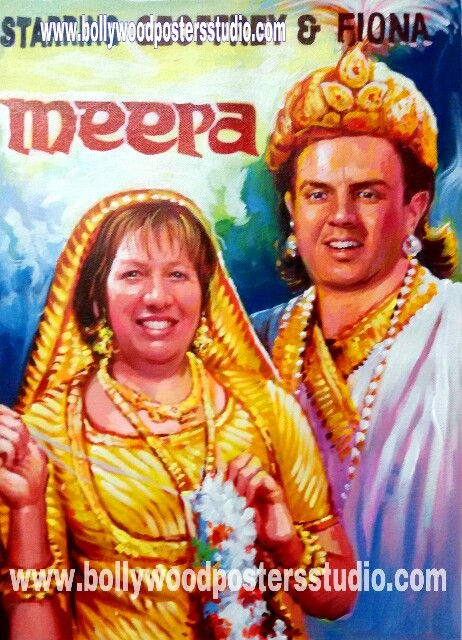 Best anniversary / wedding gift in custom bollywood style