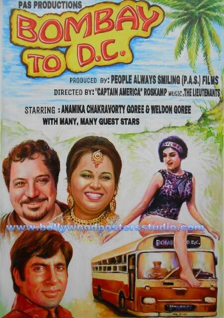 Custom Bollywood edit personal image poster