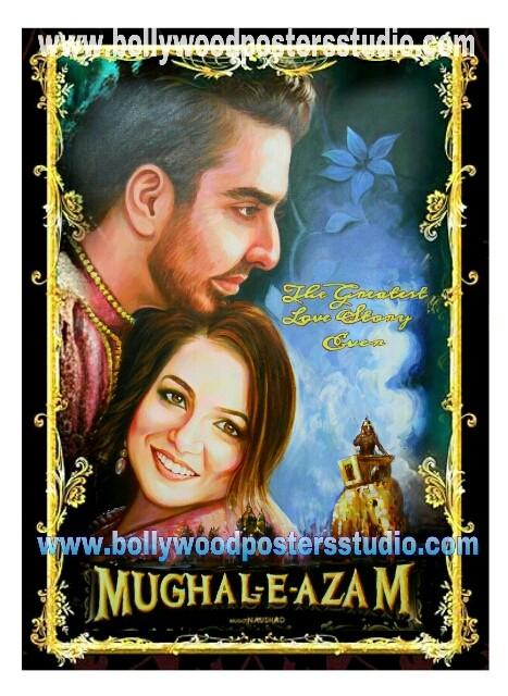 Custom Bollywood shadi's poster