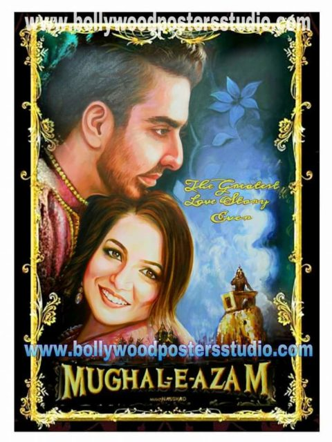 Custom Bollywood shaadi poster