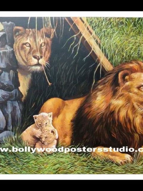 Best landscape and scenery on oil canvas hand painted - Artist required