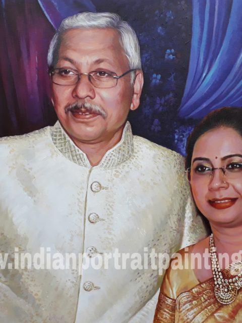 Indian portrait paintings