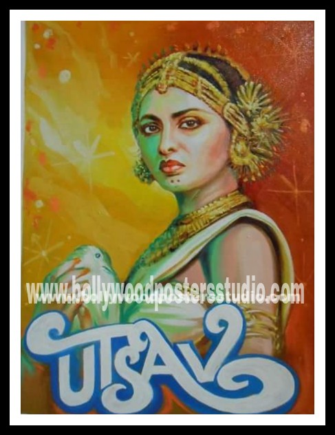 Hand painted Bollywood movie posters